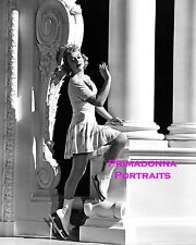"SONJA HENIE 8X10 Lab Photo 1939 ""EVERYTHING HAPPENS AT NIGHT"" ICE SKATE Portrait"