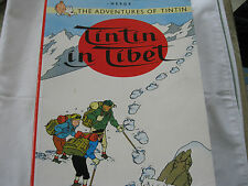 TINTIN IN TIBET (The Adventures of Tintin) by HERGE (ISBN 0 7497 0430 6)
