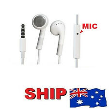 NEW Headphone Handsfree Headset For iPhone 4S 4-S 3GS 4G 4 iTouch iPad 2 iPad2