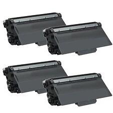 4 Pack Brother TN-750 TN750 HY Toner For HL-5440D HL-5450DN HL-5470DW HL-6180DW