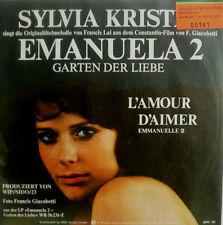 """7"""" 1976 Sylvia Kristel l'amour D 'aimer Emanuelle (2)"""