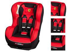 Seggiolino Seggiolone Auto Nania gr0+ da 0 a 18kg Licenza Scuderia Ferrari
