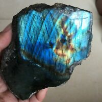 714g     Labradorite Crystal Stone Natural Rough Mineral Specimen 449