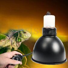 14cm Reptile Vivarium Lighting Dome Ceramic Heating Bulb Lamp Holder with Switch