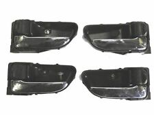 CHROME INTERIOR DOOR HANDLE HANDLES SUBARU IMPREZA WRX STI SET OF 4 UPGRADE MOD