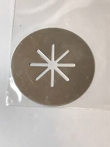 WearEver Super Shooter Cookie Press STAR STARBURST DISC #52 Replacement Part