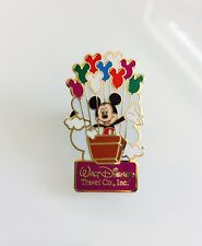 Mickey Mouse Hot Air Balloon Balloons Walt Disney Travel Co. Pin 57159