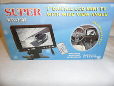 "Super 7"" TFT LCD TV  /Monitor with Wide View Angle Car Mountable WTV-7002"