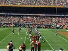 2 E-tickets. San Fancisco 49rs At Chicago Bears, Sec 105, Row 18, Seats 15, 16. For Sale