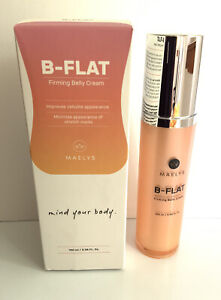 Maelys B-FLAT firming belly cream cellulite/stretch marks🌺3.38 oz🌺2023 EXPIRY