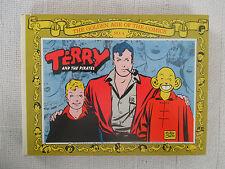 1970 Terry & The Pirates #4 Milton Caniff Nostalgia Press Comics hardcover FN/VF