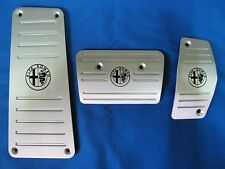 Aluminium TCT automatique à pédale + repose-Jeu de housse pour ALFA ROMEO MITO 1.4 LHD