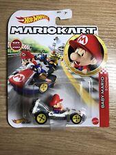 Hot Wheels Mariokart Baby Mario B-dasher Standard Kart /toy/gift