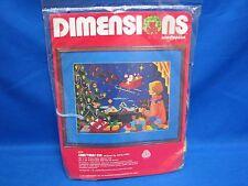 "Dimensions Needlepoint CHRSTMAS EVE 16"" x 12"" 9002 Mary Smith"