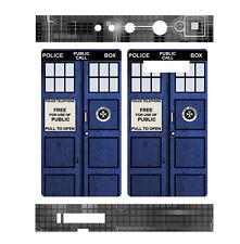 Skin Wrap for Snow Wolf 200W TC MOD Decal Vape Sticker - BLUE PHONE BOX