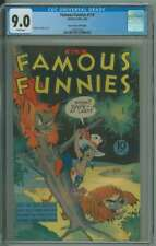 FAMOUS FUNNIES #116 CGC 9.0 WHITE PAGES