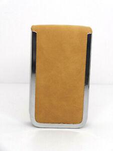Executive 7-Piece Manicure Set -Tan Flip Up Pocket Set