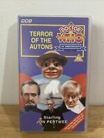 Doctor Who: Terror Of The Autons-Vhs-Jon Pertwee