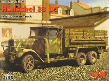 Henschel 33 D1 Wehrmacht alemana camión #35466 1/35 ICM Raro