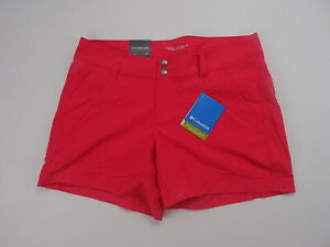 Columbia Women's Saturday Trail Short active hiking shorts  red size 10