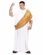 Hail Caesar Emperor Roman Greek Toga Adult Costume, Plus Size