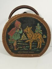 Little Red Riding Hood RARE Vintage Child's Suitcase