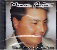 Miguel Angel - Ritmo Pasion Y Sentimiento (2008 CD) Argentina (New & Sealed)