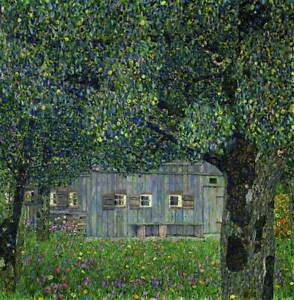 Gustav Klimt Landscape 2 Poster Reproduction Paintings Giclee Canvas Print