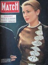 Paris Match No No 0381 of 1956 Grace Kelly / Marilyn Monroe/Tour France