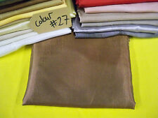 copper SATIN Fabric costume Curtain Material wedding party decoration use fabric