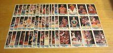 1990-91 Panini Stickers NBA Basketball Lot of 14 Uncut Sheets 168 Stickers Total