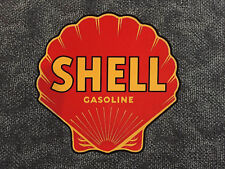 Early style Shell Gasoline self-adhesive vinyl sticker for petrol bowser