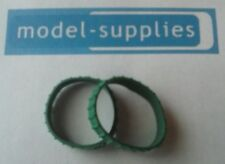Matchbox repro pair of green rubber tracks for A/B series models
