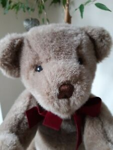 """VINTAGE GROWLER JOINTED TEDDYBEAR CLASSIC  GUND 16""""  NEEDS NEW HOME"""