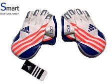 NWT BOYS adidas PREMIUM Cricket Wicket Keeping Gloves Padded Leather Youth CX11