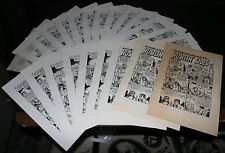 Hustlin' Sides and How I Quit Collecting Records LOT of 23 Copies - Robert Crumb