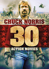 30 ACTION MOVIES: FEATURING CHUCK NORRIS NEW DVD