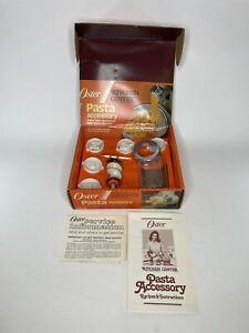 Vintage OSTER  Regency Kitchen Center Pasta Maker Accessory 939-65