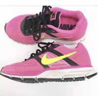 Women's Nike Neutral Ride Running Pink Neon Running Training Shoes Size 8