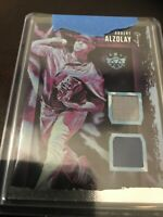 Panini Diamond Kings Albert Alzolay Dual Relic Multi Color Cubs RC 2020