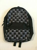 Vans New Realm Classic Black Checkerboard Backpack Women's OSFA