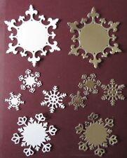Die Cuts Christmas Spellbinders Snowflake Pendant Die Cuts