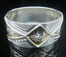 Bracciale in Argento Sterling, 3 Colori Decorazione Floreale, QUALITÀ SUPER