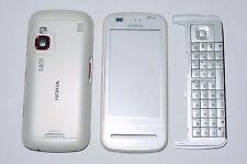 White housing cover fascia facia faceplate case for Nokia C6 C6-00