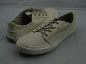Sperry Top-Sider Coastline Blucher Sneakers Shoes Men's Size 9 Bone White Ivory
