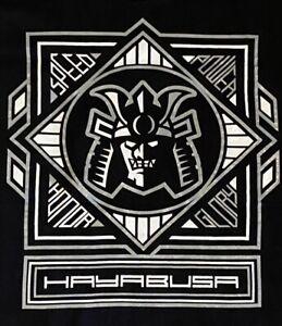 REMIXX MMA HAYABUSA Mixed Martial Arts Samurai Mens Black T-shirt Sz: XL