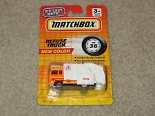 Matchbox MB32 Refuse Truck Disposal Unit #24 1:64 MOC 1990 See My Store