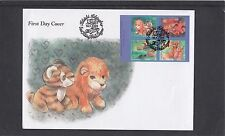 Finland 2005 Toys Teddy Bear Lion First Day Cover FDC Helsinki pictorial fdi h/s