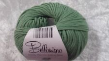 Bellissimo Italian Extra Fine 100% Merino #221 Sage Green Machine Washable 8 Ply
