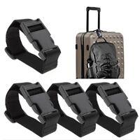 Adjustable Luggage Suitcase Bag Hanging Strap Belt Handle Holder With Buckle New